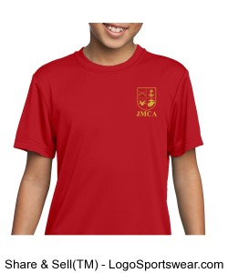 Marine Corps Cadet Youth PT Shirt Design Zoom